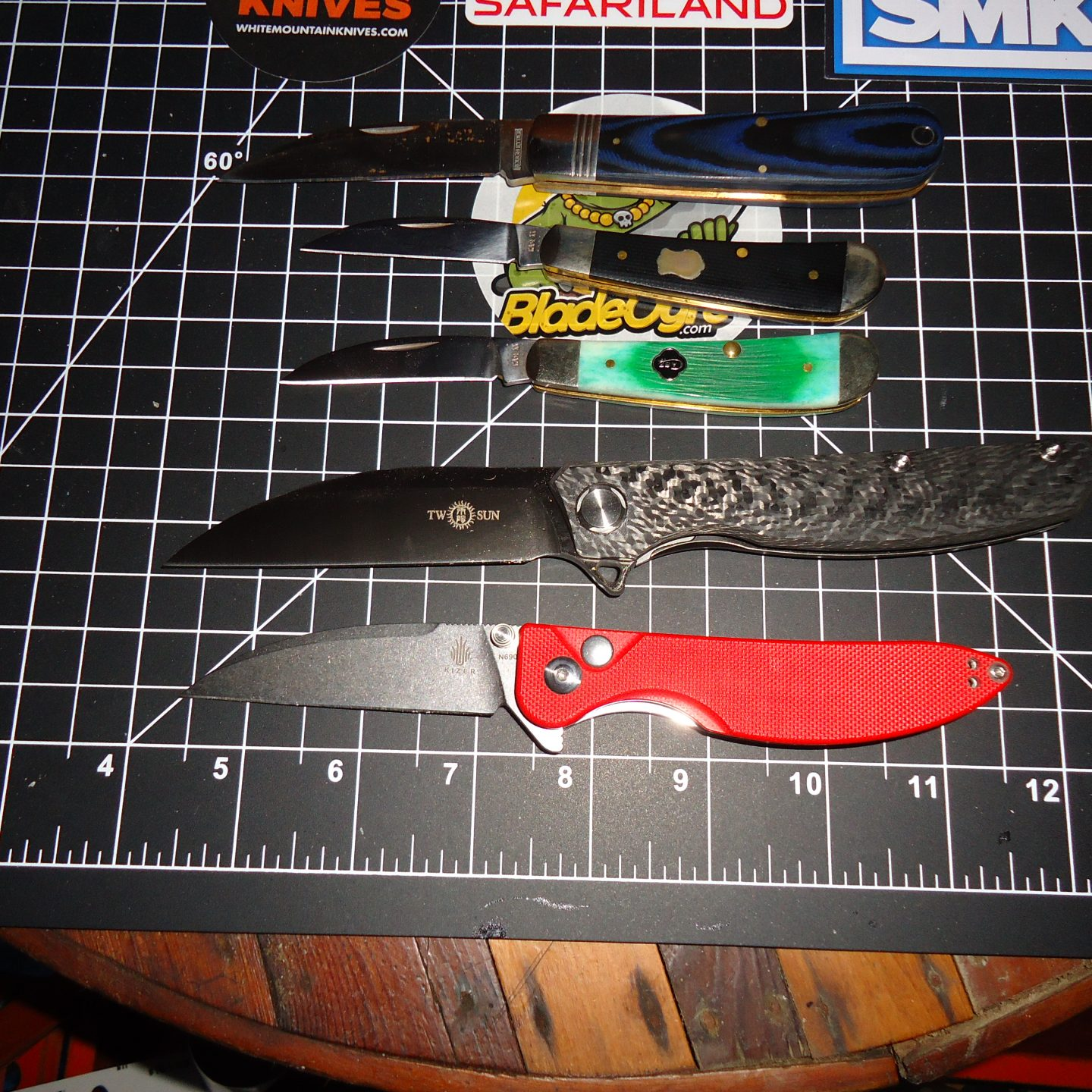 Swayback Knives: Sharp and Sassy!
