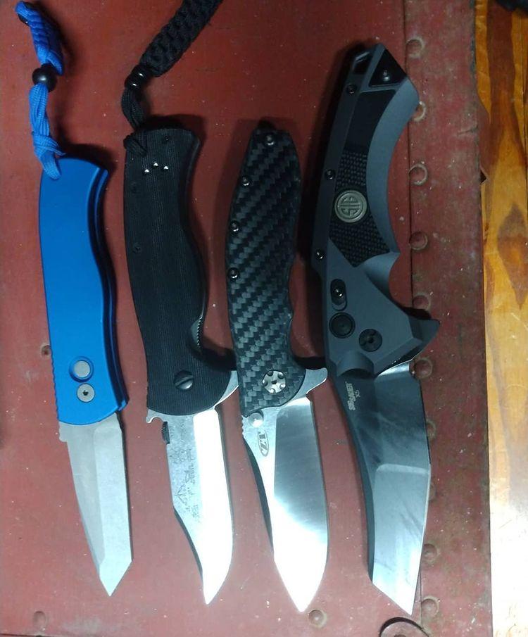 """My """"Four Horsemen"""" of EDC Knives"""